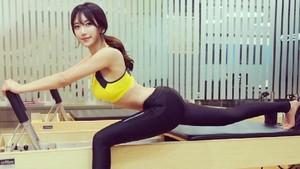 Foto: Ini Ye Junghwa, Pelatih Kebugaran Imut dari Korea