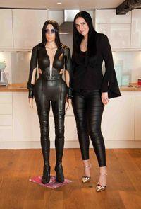 Keren! Begini Jadinya Kalau Sosok Kim Kardashian Dibuat dari Kue