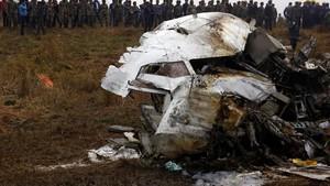 Tragis! Pesawat Jatuh dan Terbakar di Nepal