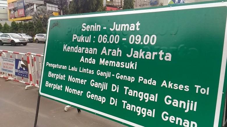 Menhub Kaji Penerapan Ganjil-Genap di Tol Tangerang