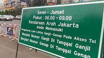 Pengumuman! Ganjil Genap Segera Berlaku di Wilayah Tangerang