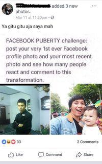 Ditantang Facebook Puberty? Begini Cara Mainya