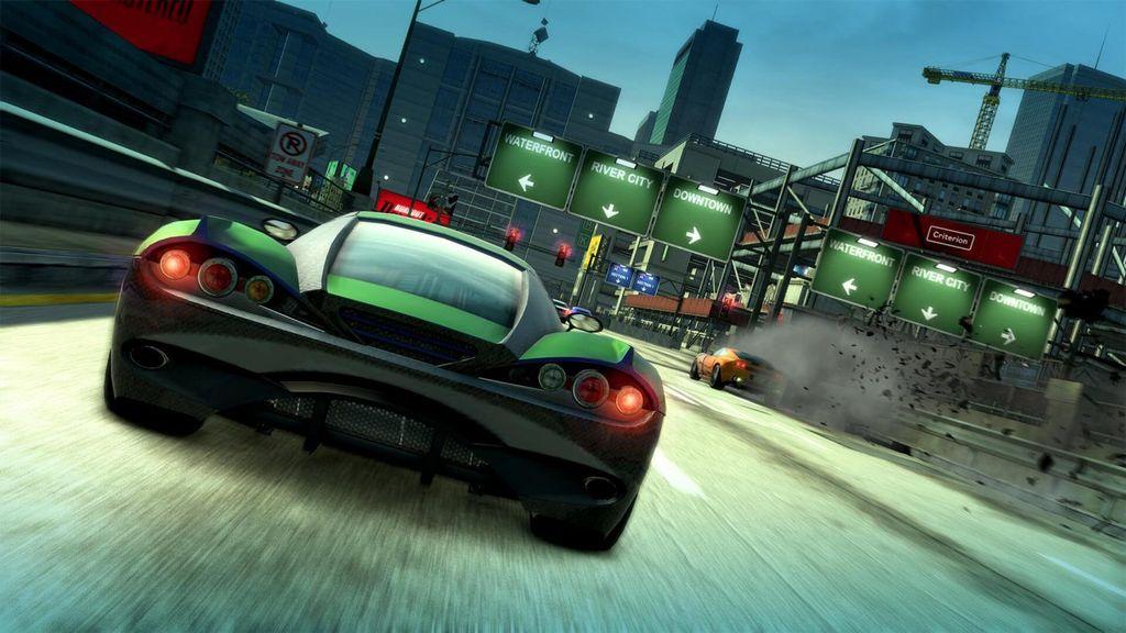 Sesuai namanya, Burnout Paradise Remastered merupakan hasil polesan ulang dari game yang dirilis tahun 2008. Foto: Electronic Arts