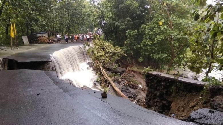 Jalan Ambrol, Akses ke Alastuwo Karanganyar Putus Total