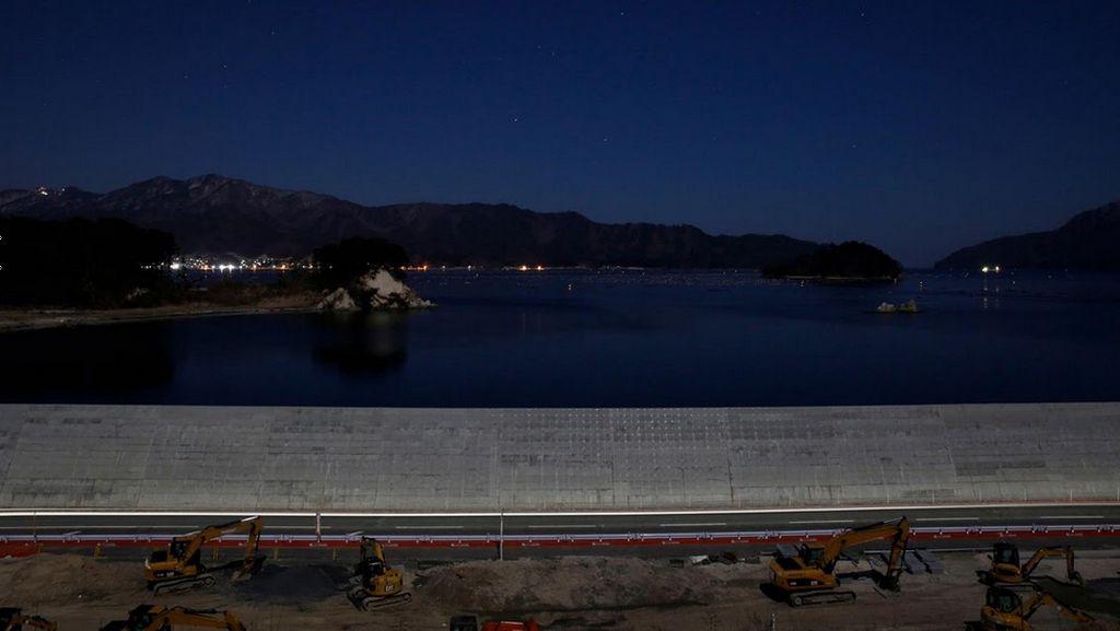 Dinding Laut Bisa Ciptakan Rasa Aman Palsu Saat Tsunami