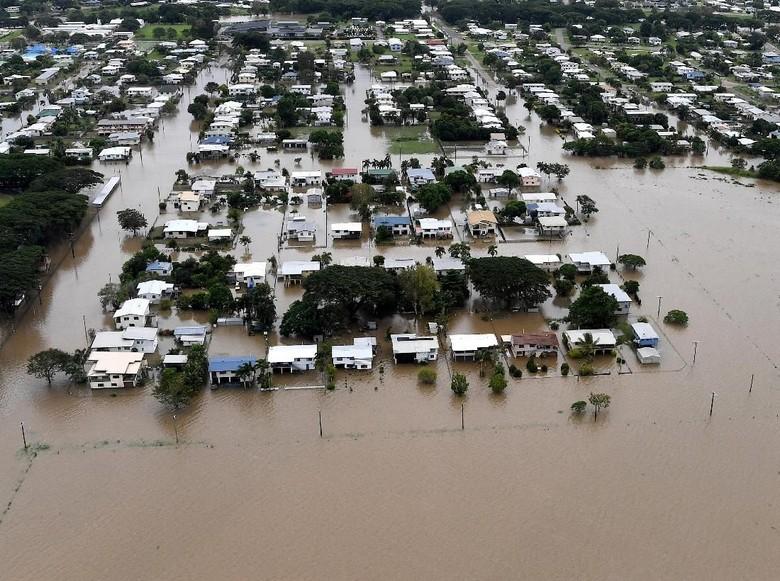 Banjir Mulai Surut, Buaya Mengancam Warga Queensland