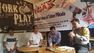 Polres Serang Pantau Medsos Cegah Penyebaran Hoax di Pilkada