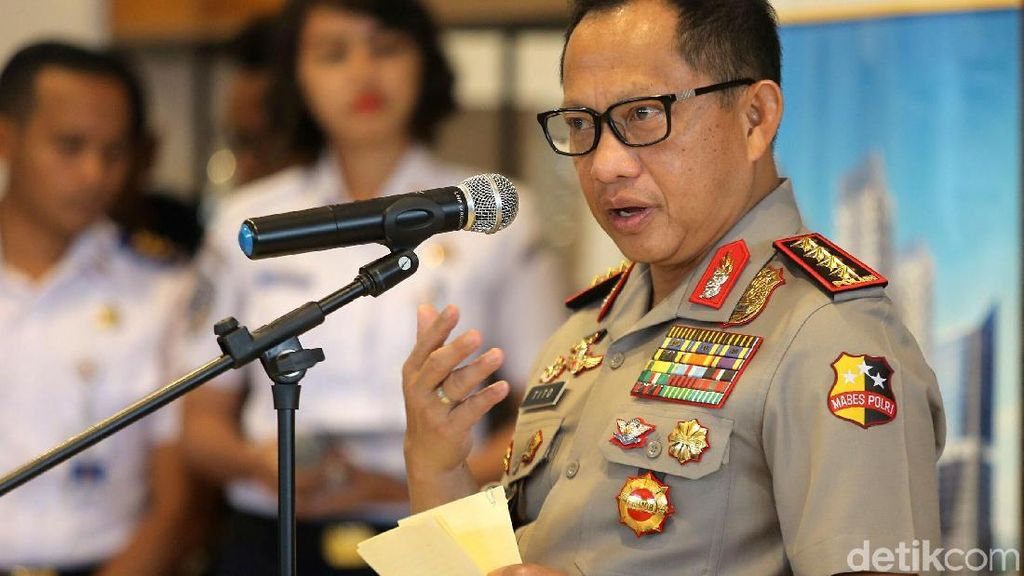 Kapolri Tito: Calo CPNS Kita Sikat!