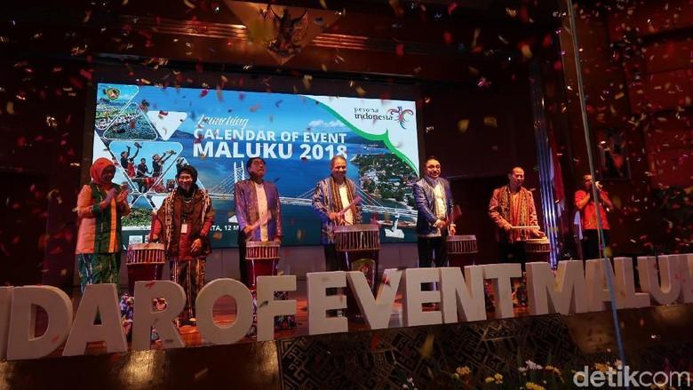 Suasana peluncuran Calendar of Event Maluku 2018 (Bona/detikTravel)