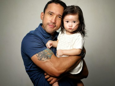 Begini mesranya Ayah Maruli dengan Jemma. (Foto: Instagram/marulitampubolon777)