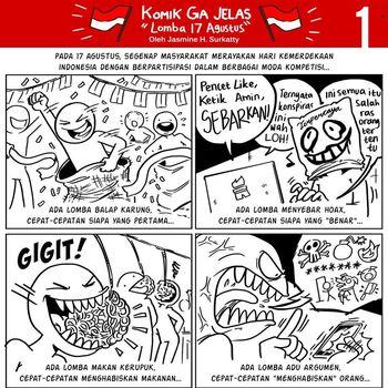 Kenalan Yuk dengan Komikus 'Ga Jelas' Jasmine Hanny Surkatty