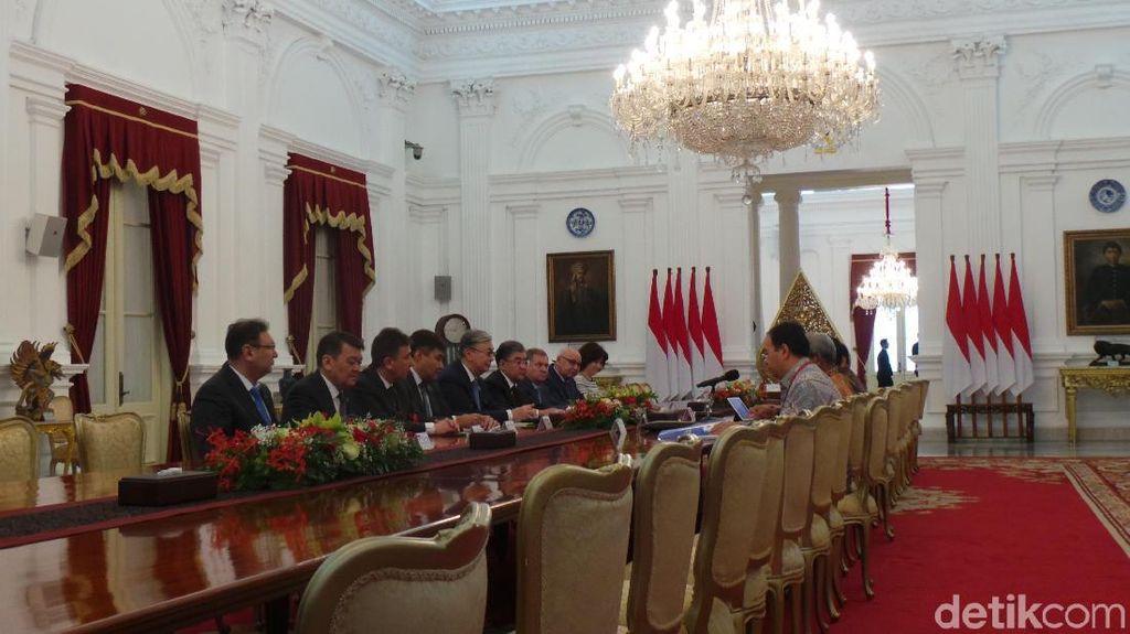 Jokowi Minta Kazakhstan Dukung RI Jadi Anggota Tidak Tetap DK PBB