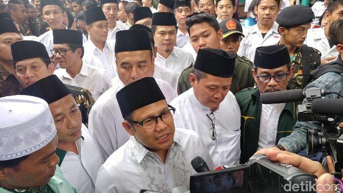Ketua Umum PKB Muhaimin Iskandar mendapat mandat dari kiai dan ajengan se- Bandung Raya untuk maju menjadi calon wakil presiden dalam Pilpres 2019 mendatang