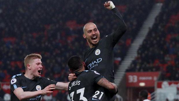 Manchester City punya skuat yang dalam dengan kemampuan yang tak jauh berbeda.