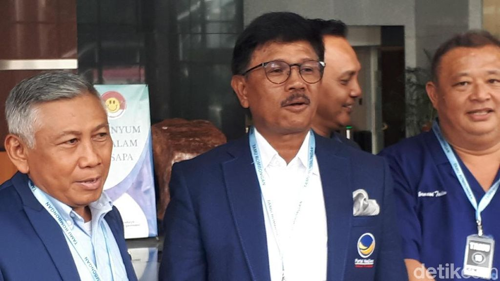 NasDem: Tak Mungkin Trilogi Pembangunan Soeharto Dilakukan Jokowi
