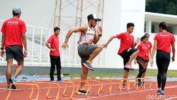 Peralihan Tongkat Jadi Fokus Tim Estafet 4x100 Meter Jelang Asian Games 2018