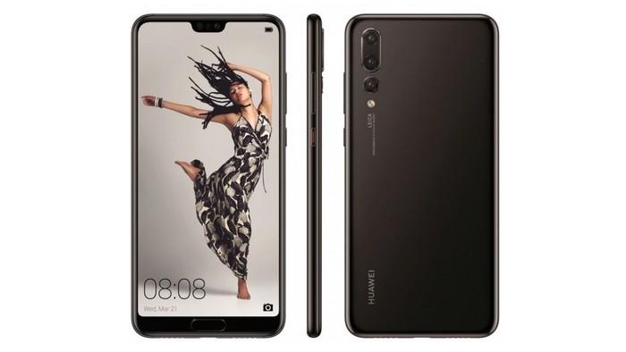 Huawei P20. Foto: GSMArena