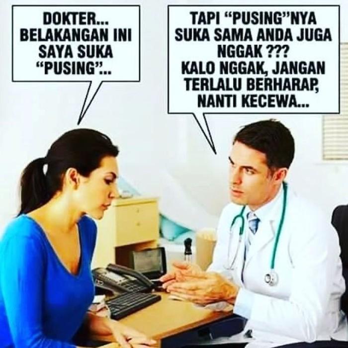 Coba ingat-ingat, kapan terakhir kali Anda memeriksa kesehatan ke dokter? Foto: Instagram