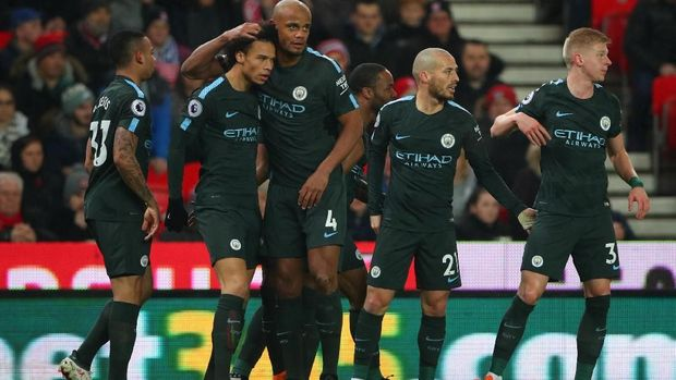 Manchester City jadi tim paling tangguh di Liga Inggris musim ini.
