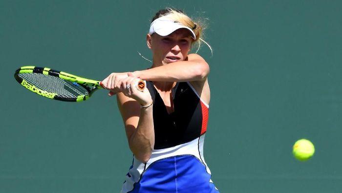 Caroline Wozniacki lolos ke babak 16 besar Indian Wells setelah mengalahkan Aliaksandra Sasnovich (Foto: Jayne Kamin-Oncea-USA TODAY Sports)