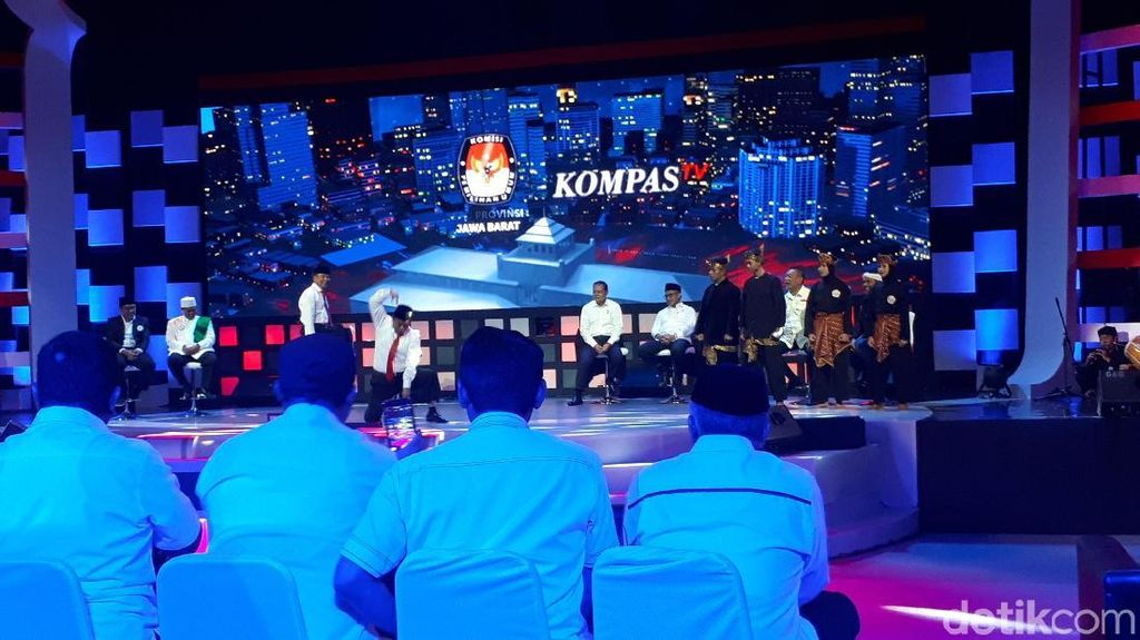 1.000 Polisi Kawal Final Debat Cagub Jabar
