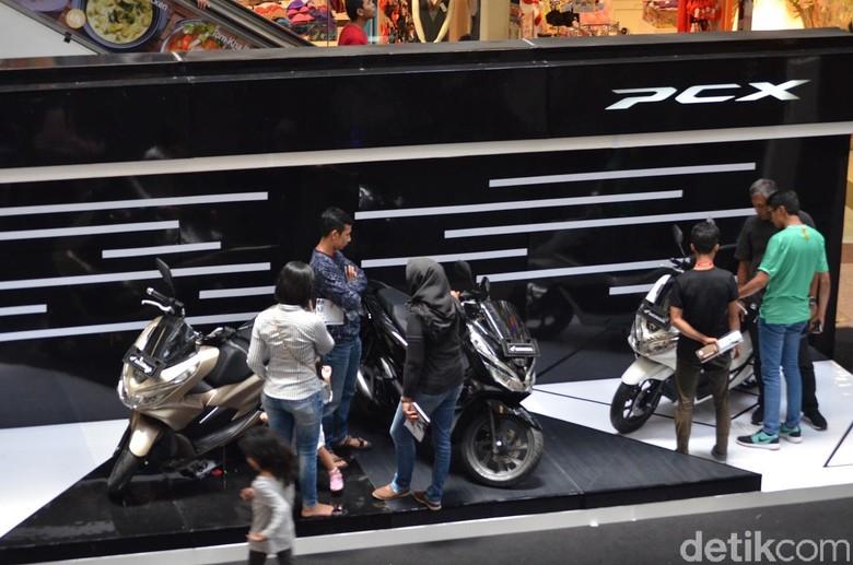 Motor Honda PCX. Foto: Wahana Makmur Sejati