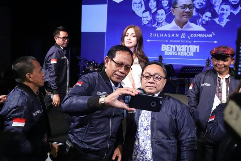 Nonton Benyamin Biang Kerok, Ketua MPR Apresiasi Film Indonesia