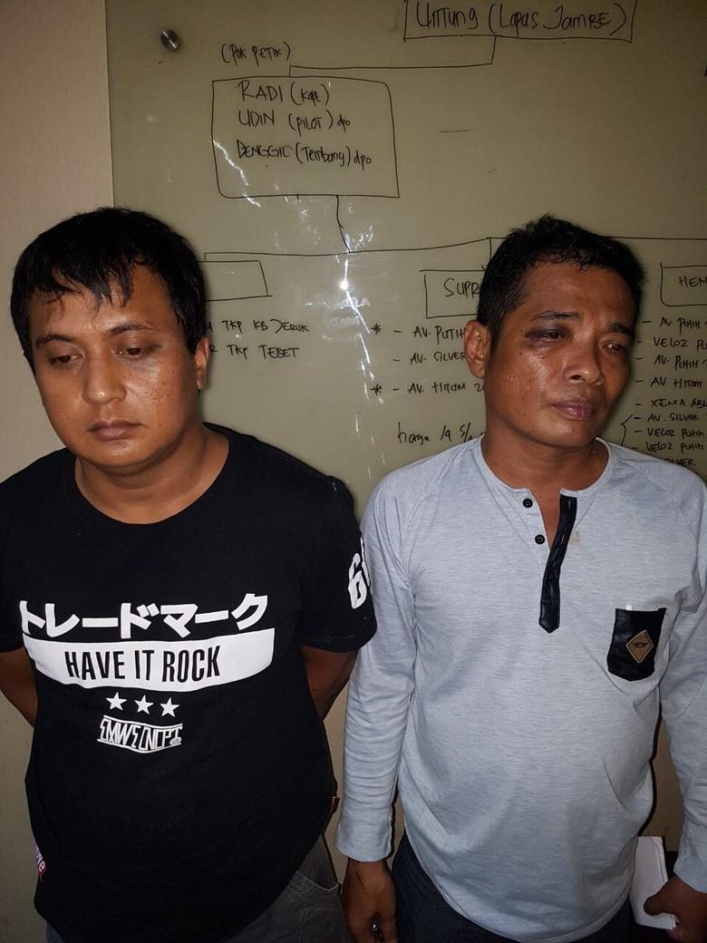 Polisi Cokok Trio Penadah Mobil Curian Jakarta Selatan