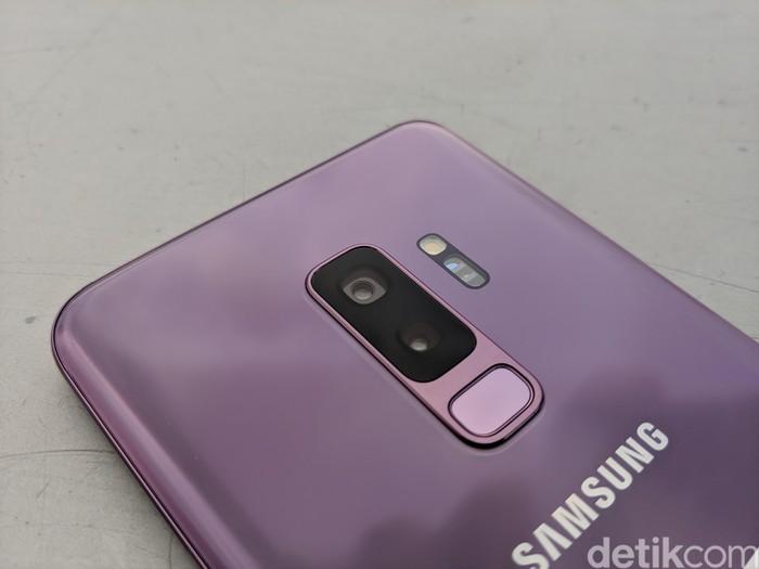 Samsung Galaxy S9+ (Foto: Adi Fida Rahman/detikINET)