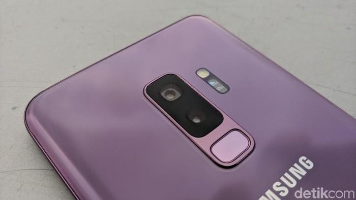 Kamera belakang Galaxy S9+ (Adi Fida Rahman/detikINET)