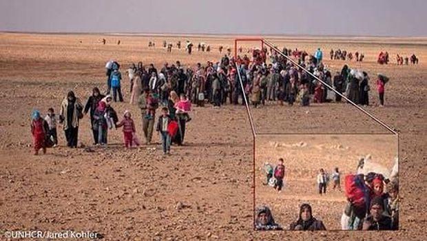 Fakta di Balik Foto Viral Bocah Suriah 'Sendirian' di Gurun