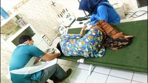 Pelaku Bertopeng di Balik Penembakan Perempuan Sukabumi