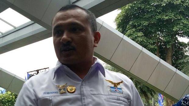 Kadiv Advokasi dan Bantuan Hukum DPP PD Ferdinand Hutahaean.