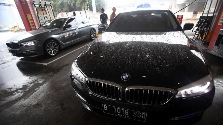 Mobil sedan BMW Foto: Istimewa