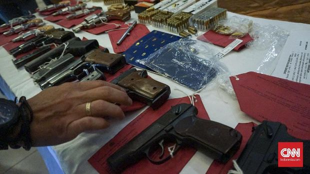 Saat Sindikat Penjual Pistol Rakitan Raup Untung Puluhan Juta
