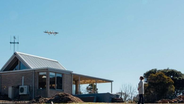 Pengiriman Makanan Gunakan Drone Diuji Coba di Canberra