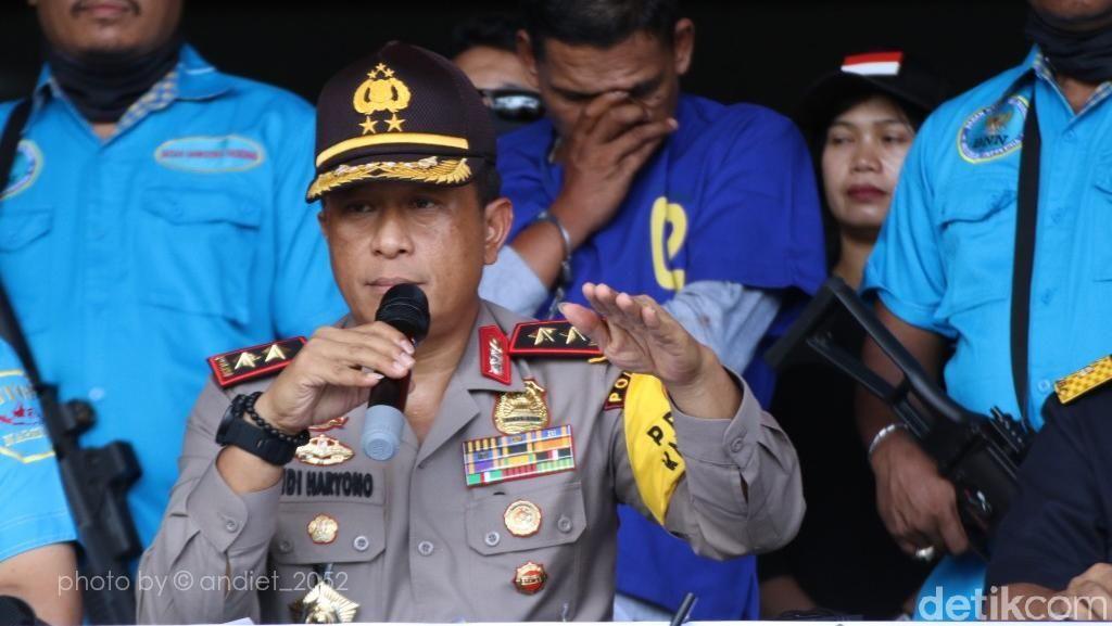 Polisi Ungkap Penyelundupan 5 Kg Sabu Pesanan Napi di Pontianak