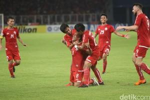 Gol Addison di Injury Time Antar Persija Taklukkan Song Lam Nghe An
