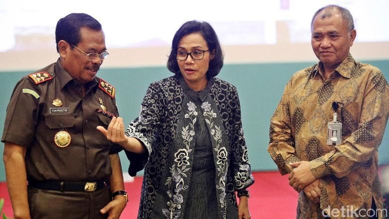Jaksa Agung Colek Sri Mulyani soal Anggaran Minim