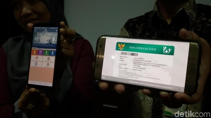 Aplikasi Mobile JKN, Yogyakarta, Rabu (14/3/2018).