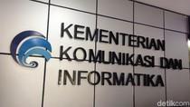 Kantor Pusat Kementerian Kominfo Kembali Lockdown