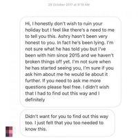percakapan wanita lain yang mengaku pacar Ashry