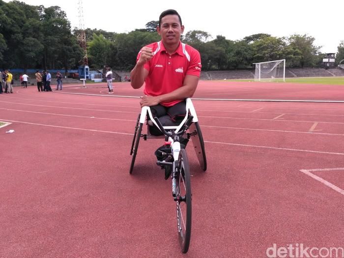 Atlet balap kursi roda, Jaenal Aripin