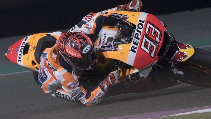 Marc Marquez akan terjun di MotoGP Qatar pada akhir pekan ini. (Foto: Mirco Lazzari gp/Getty Images)