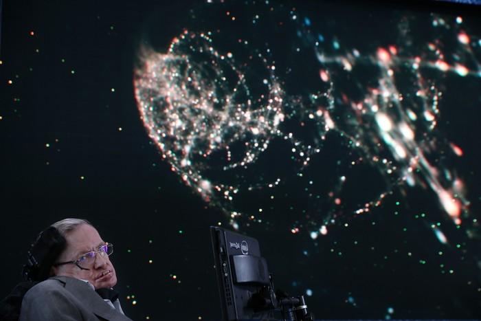 Stephen Hawking meninggal dunia di usia 76 tahun. Foto: Getty Images