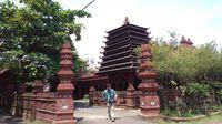 Masjid Nurbuat di Cirebon yang dibangun selama 100 hari (Sudirman Wamad/detikTravel)