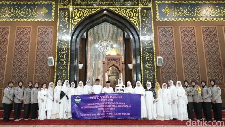 Zikir dan Doa Bersama Digelar di HUT Bhayangkari Polda Jatim