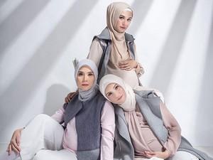 Kompaknya Trio Bumils saat <i>Pregnancy Photo</i>