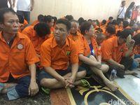 Pengungkapan kasus perjudian di Sawah Besar, Jakarta Pusat