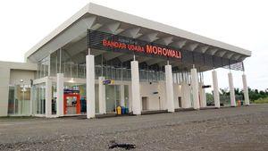 3 Tahun Dikebut, Bandara Morowali di Sulteng Kini Beroperasi